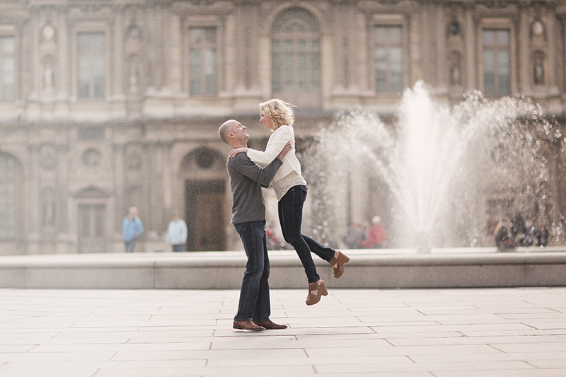 Paris Engagement Session Photo
