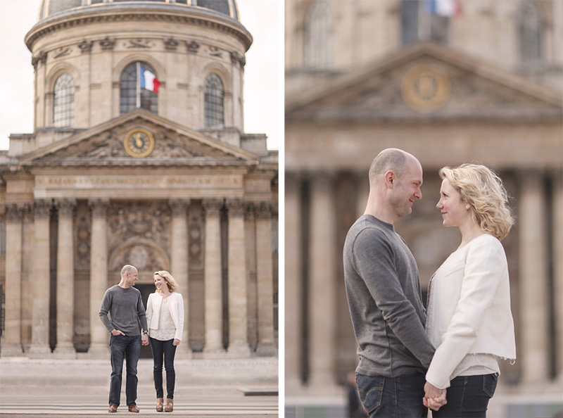 Paris Couple Engagement Photo Wedding Photographer