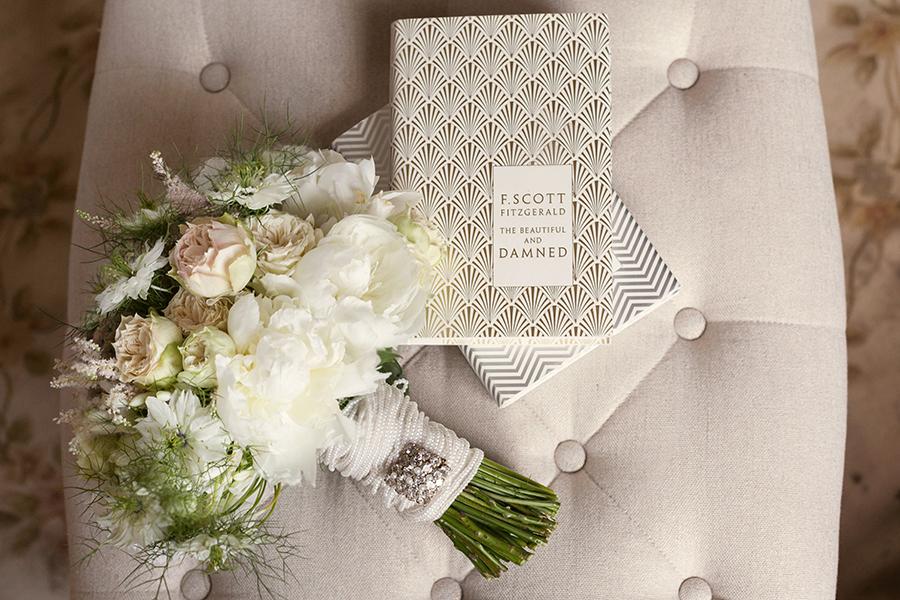 Gatsby inspired wedding 20s Hochzeit