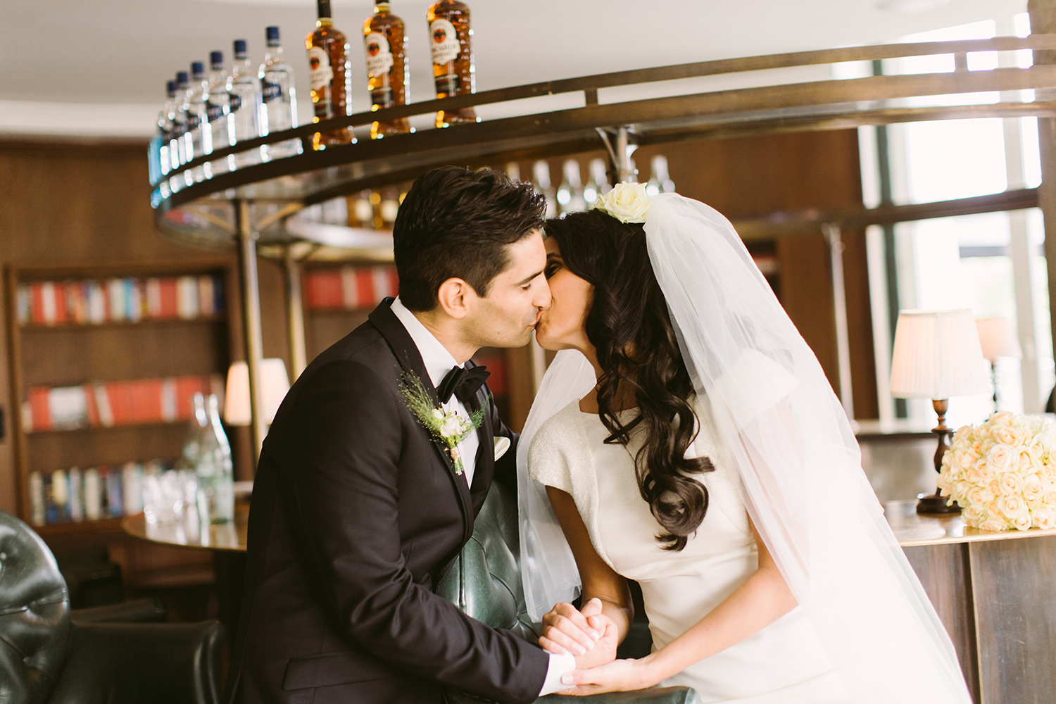 Soho House Berlin Wedding Photo