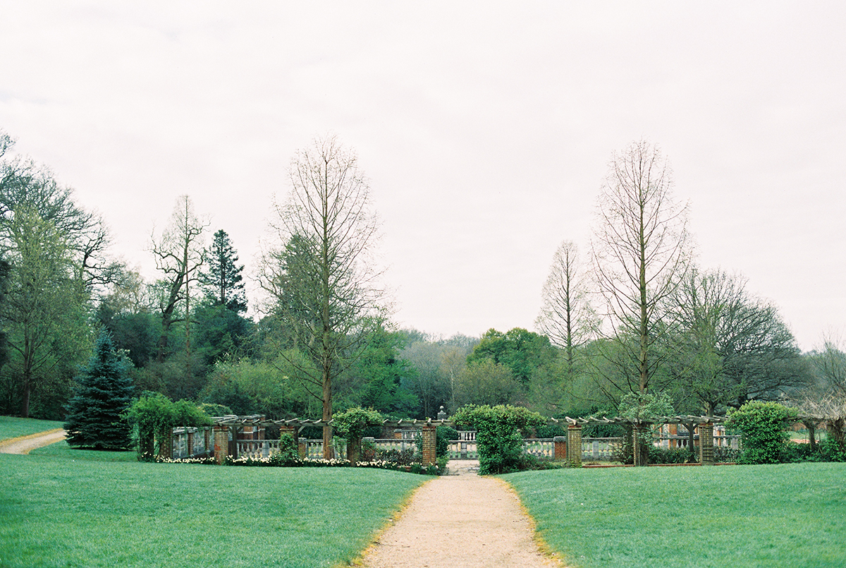 London Garden Wedding Photo