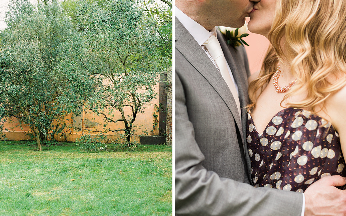 Kristen + Ben | London Garden Wedding