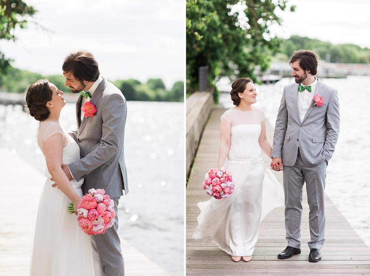 Berlin Wannsee Hochzeitsfoto