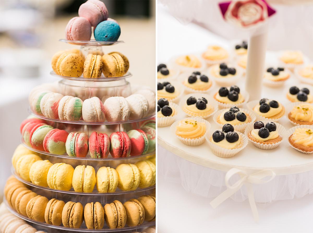 Candybar Macaron Hochzeit