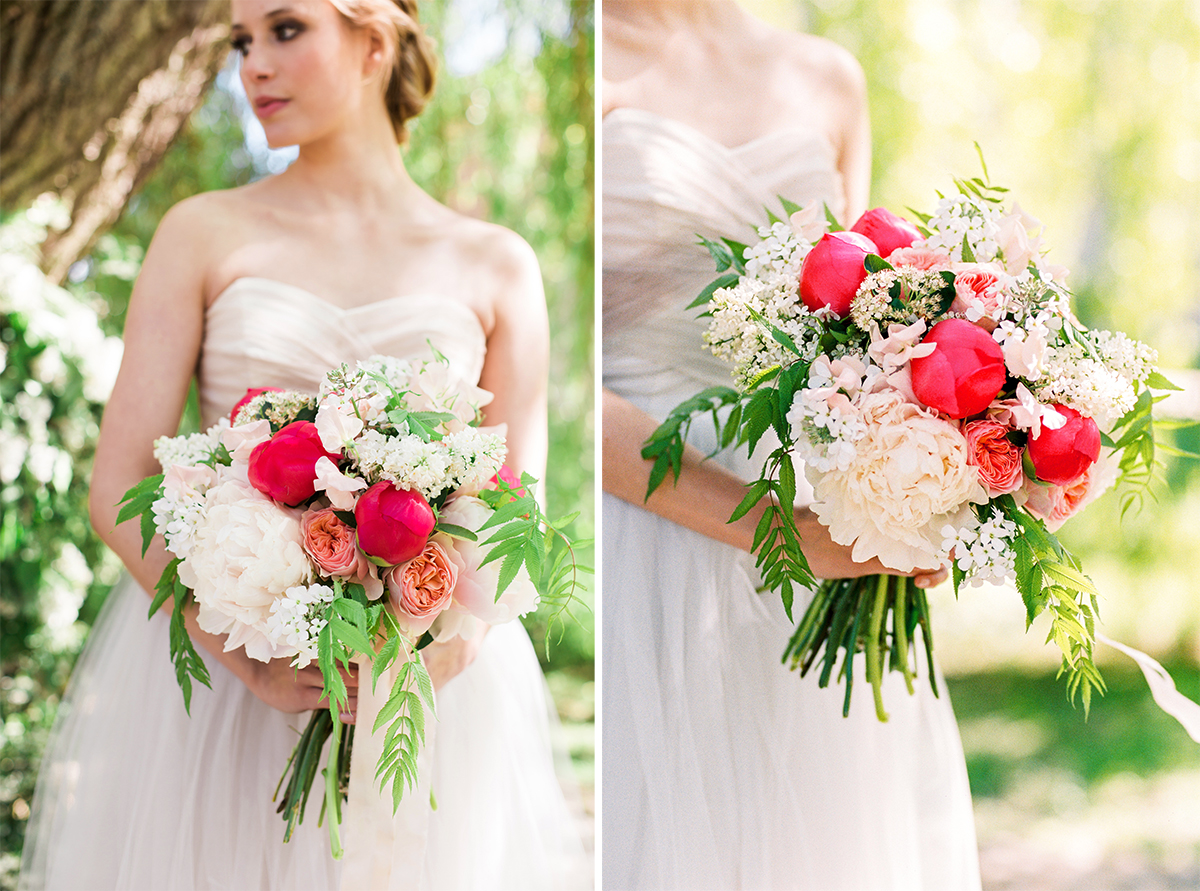 Peony Bridal Bouquet Pfingstrosen Brautstrauss