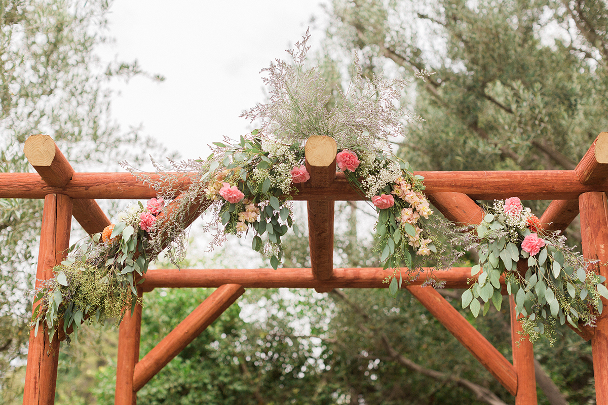 Wedding Floral Arch Photo