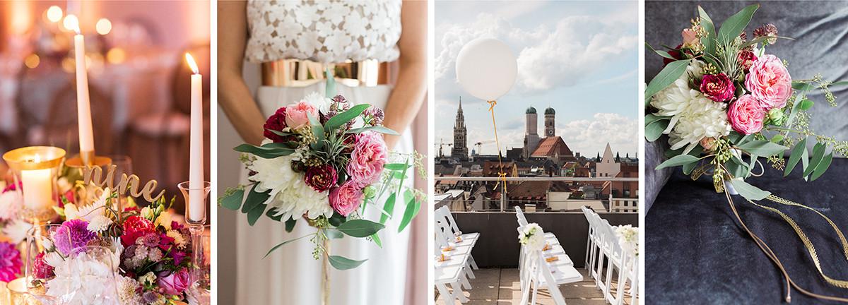 Colorful & Chic Munich Wedding