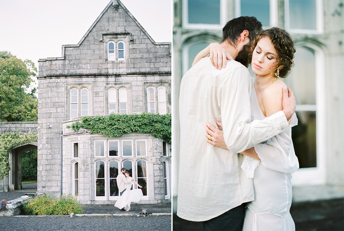 Lisnavagh House Ireland Wedding Photographer