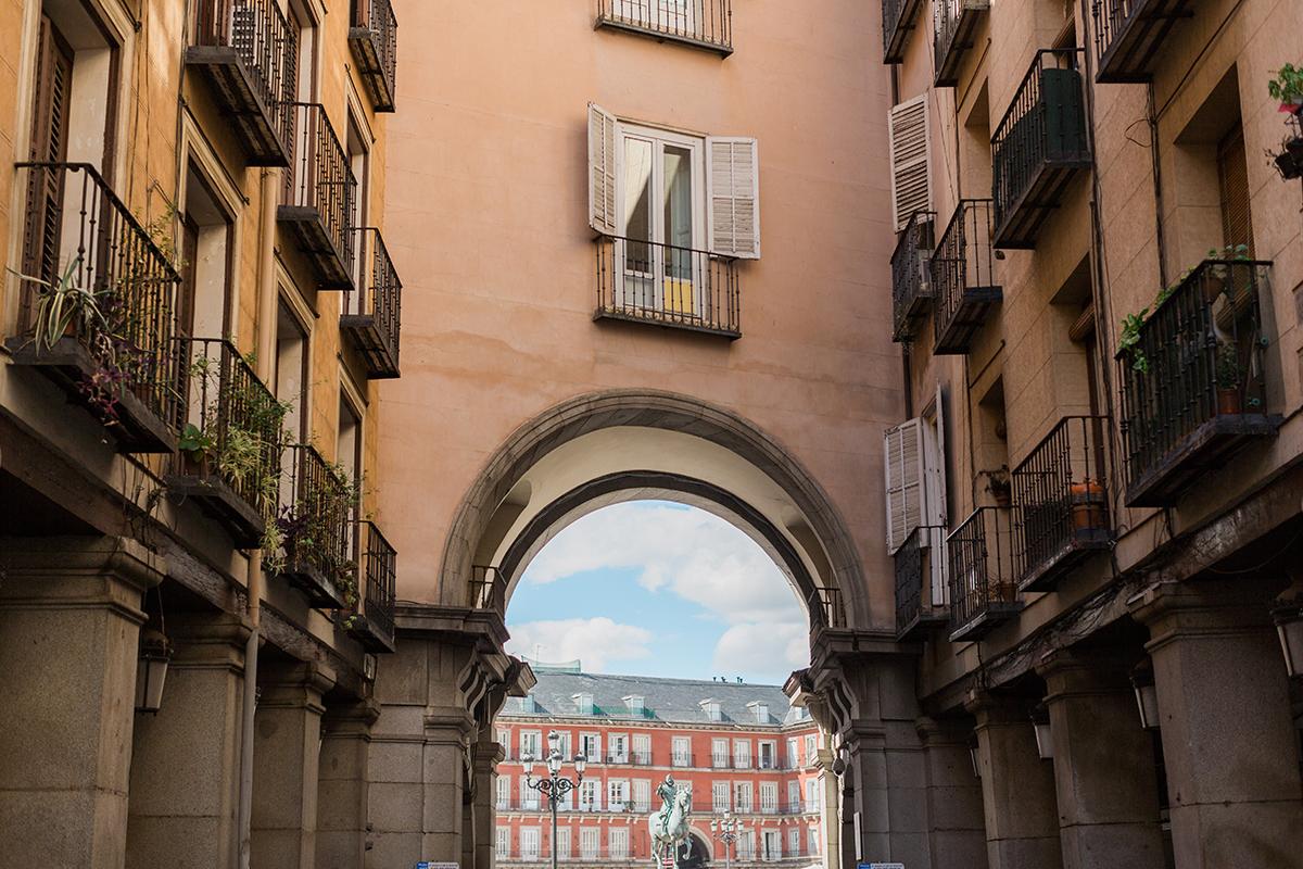 Madrid Engagement Photo