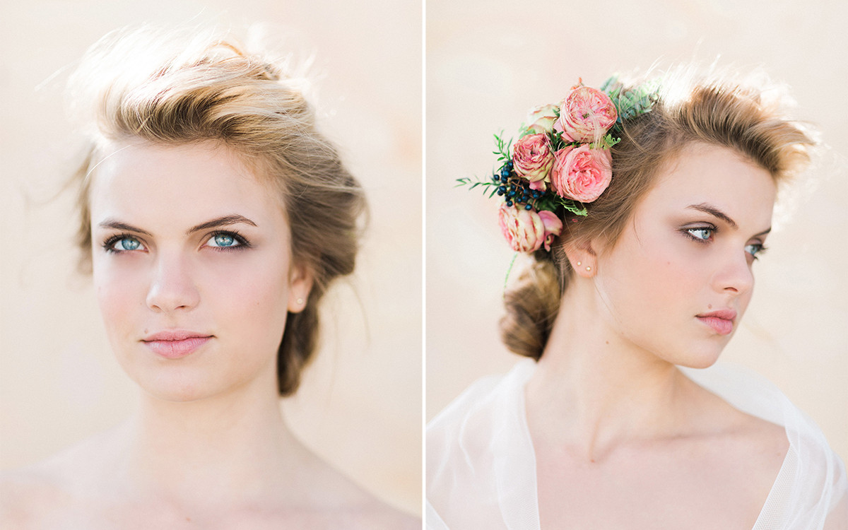 Floral Bridal Beauty