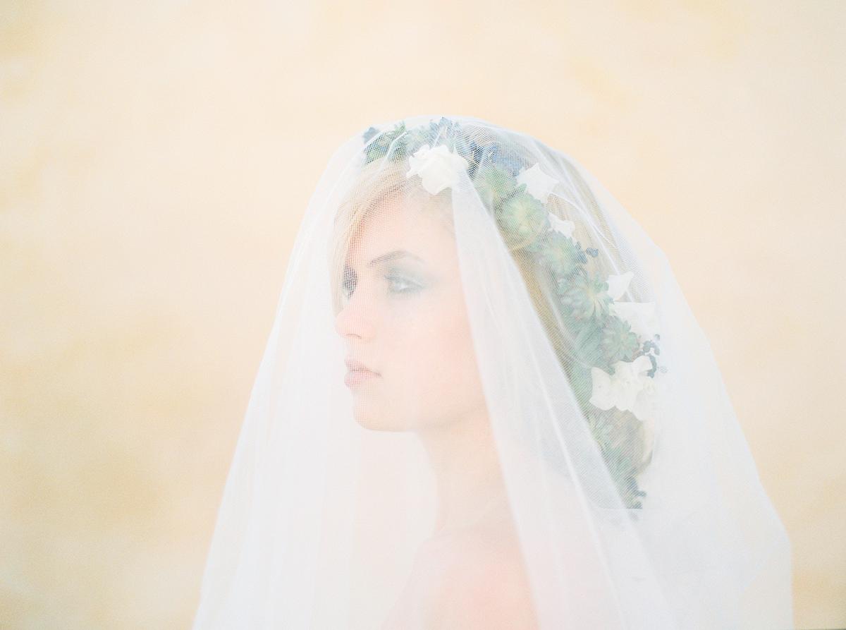 Floral Bridal Beauty Inspiration