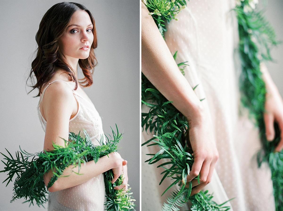 Fine Art Film Bridal Boudoir Photo