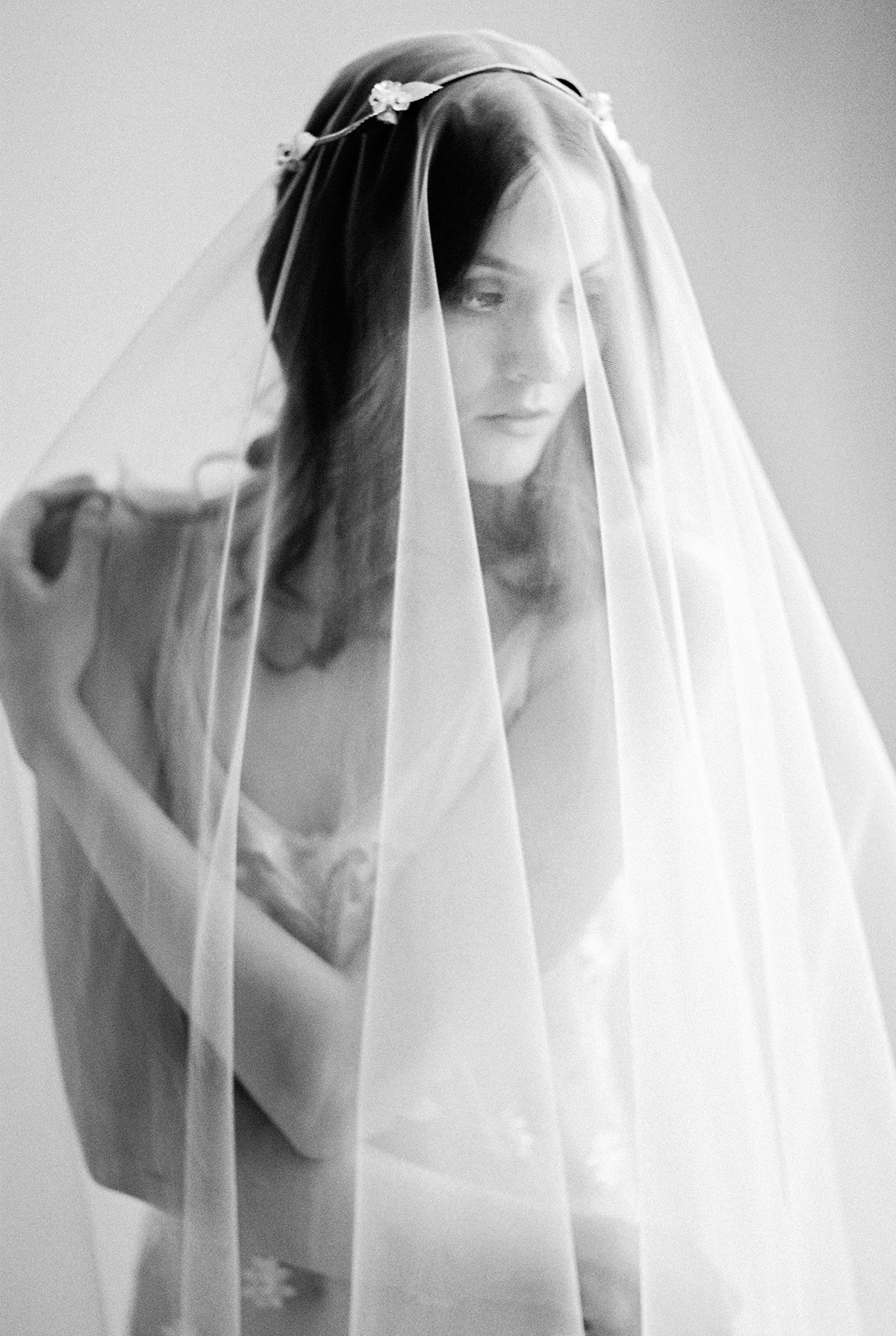 Fine Art Film Bridal Boudoir Photo