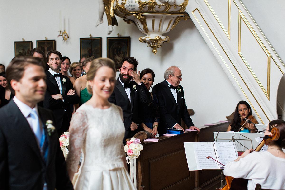 St Georg Kirche München Hochzeitsfotografie