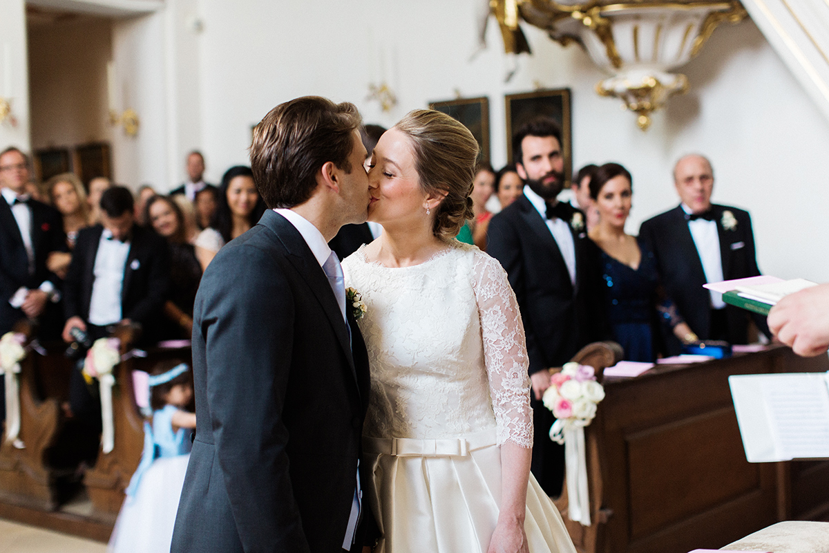 St Georg Kirche Munich Wedding Photographer
