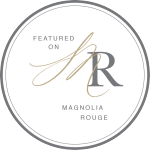 Featured on Magnolia Rouge Badge