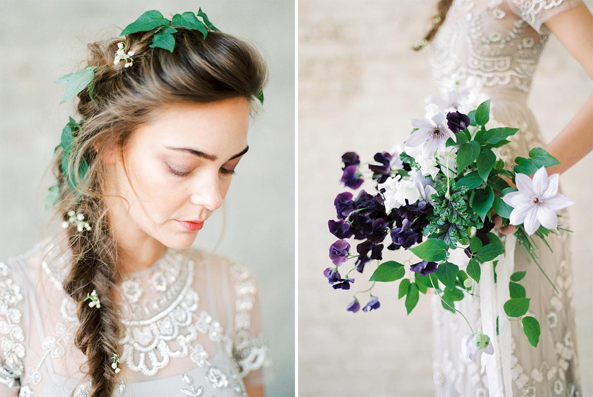 Floral Romance   Film Wedding Photographer France