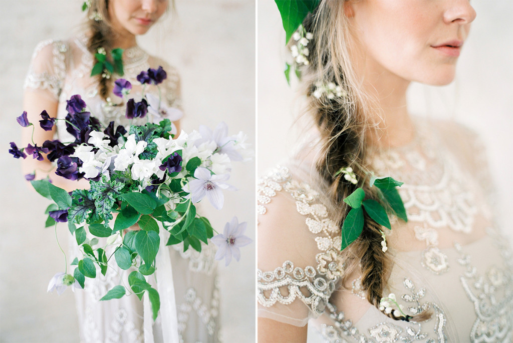 Bridal Hair Styles Lily of The Valley
