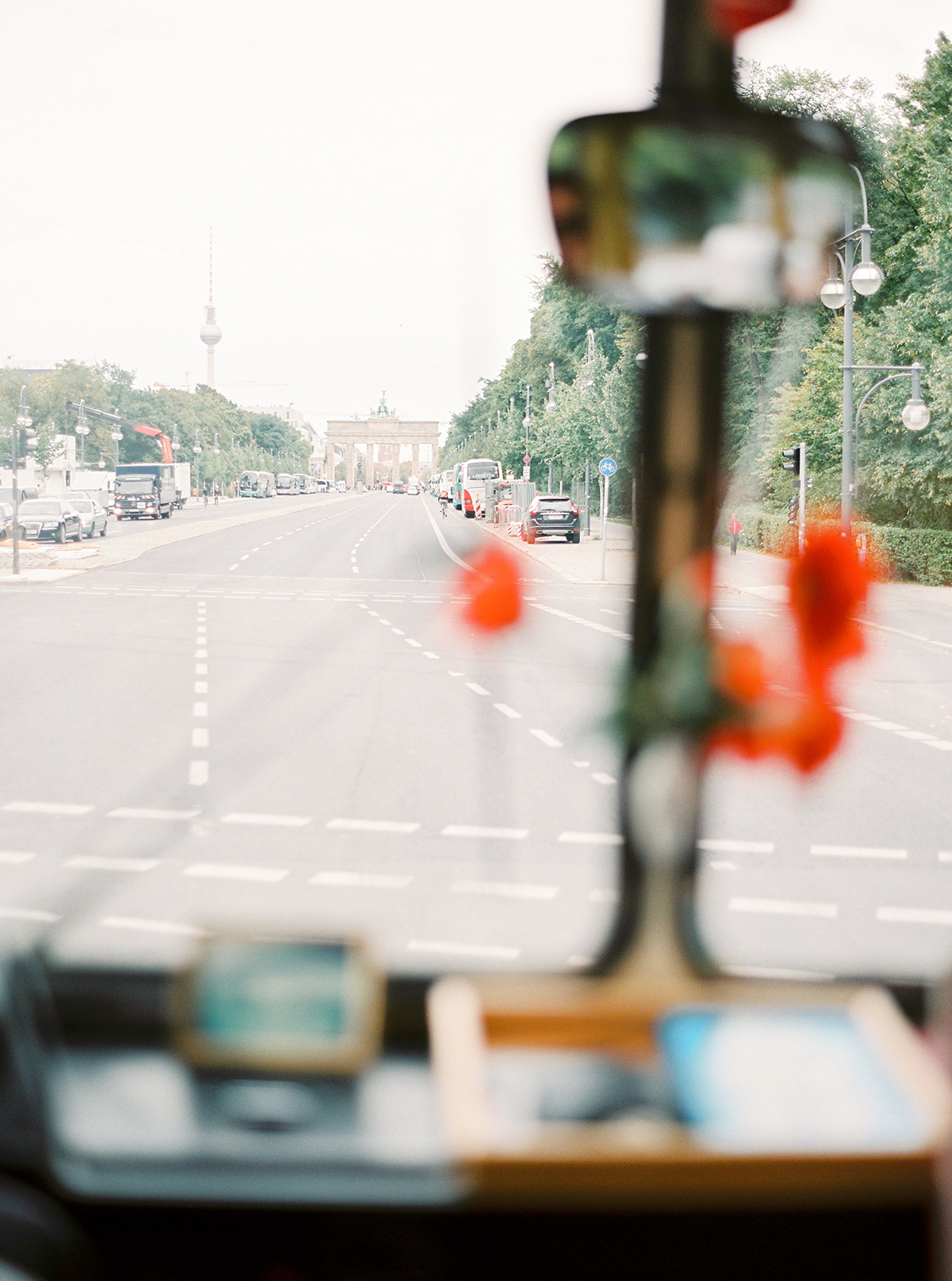 Vintage Bus as Wedding Transport in Berlin, Germany
