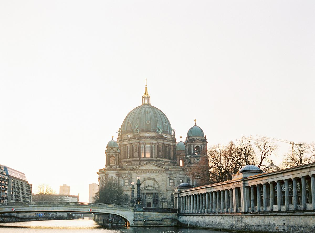 Berlin Sunrise Museum Island