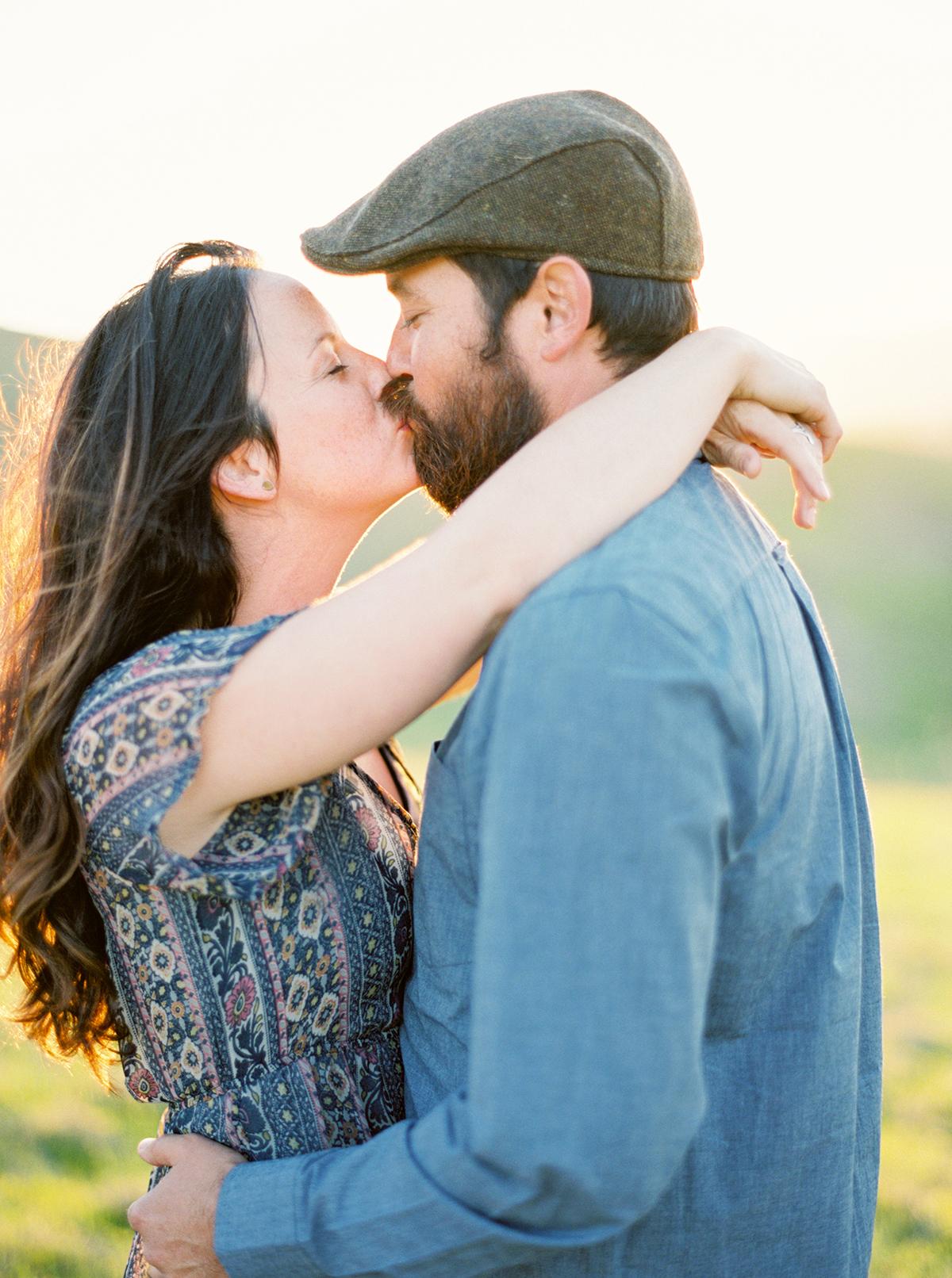 Fine Art Film Engagement Photographer San Luis Obispo California