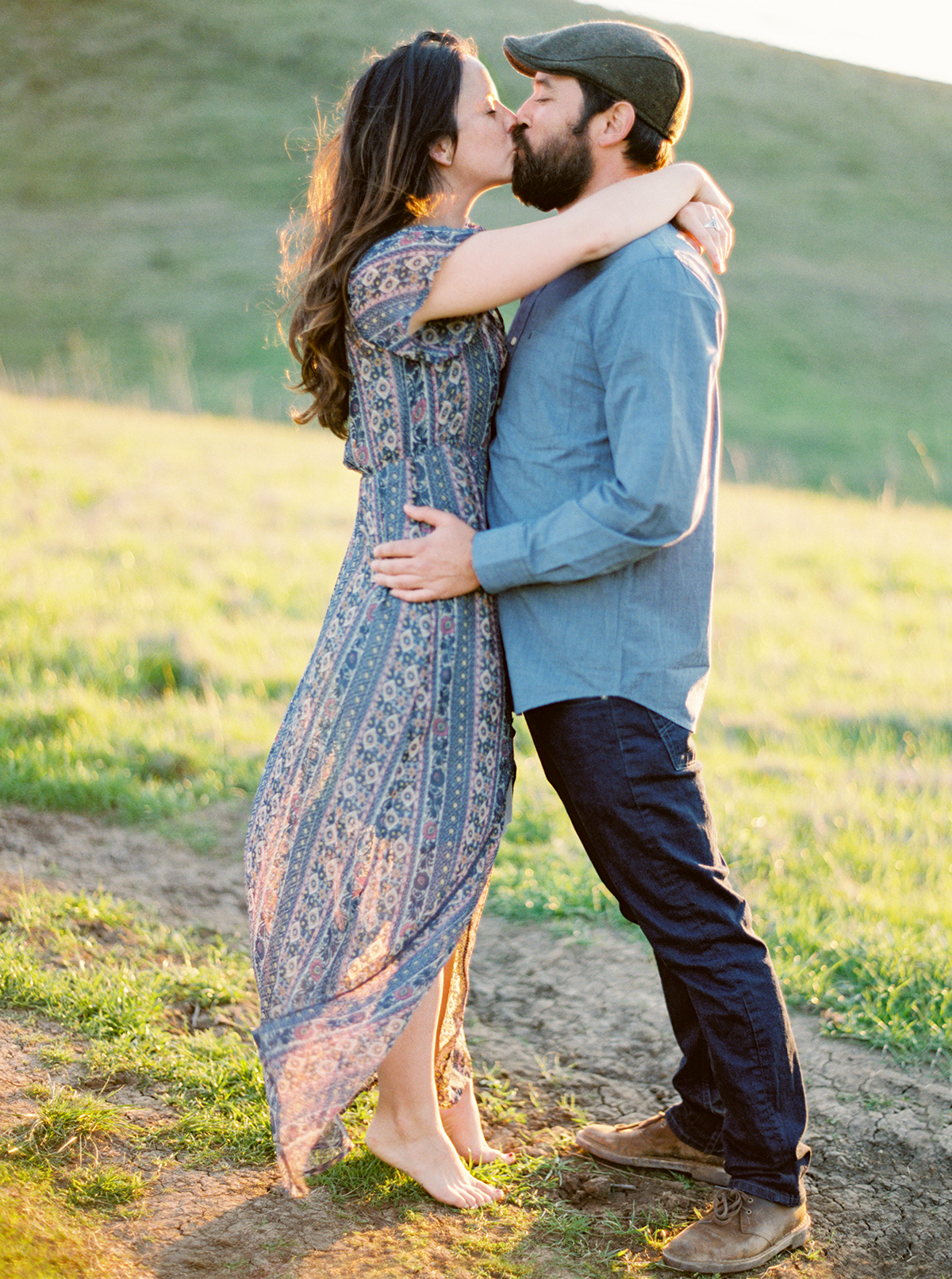 Film Engagement Photographer San Luis Obispo