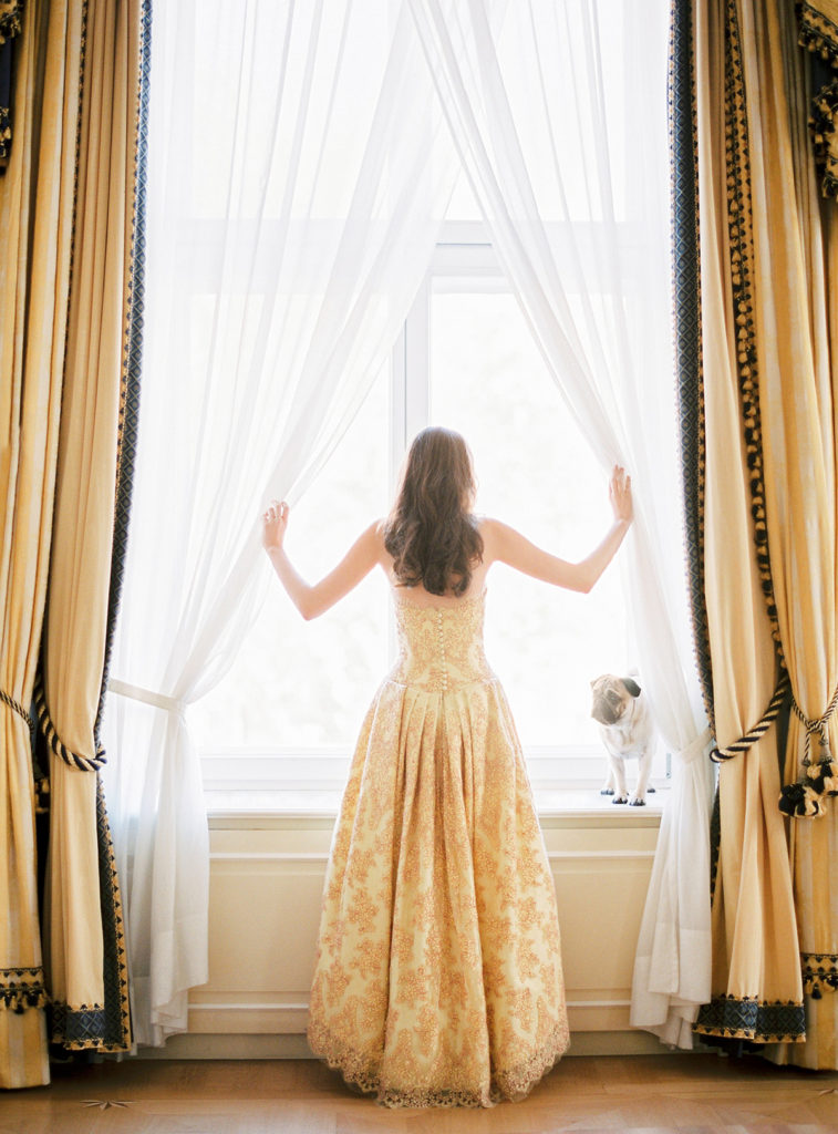 Vienna Wedding Hotel Imperial Styled by A Very Beloved Wedding Photo by Ashley Ludaescher