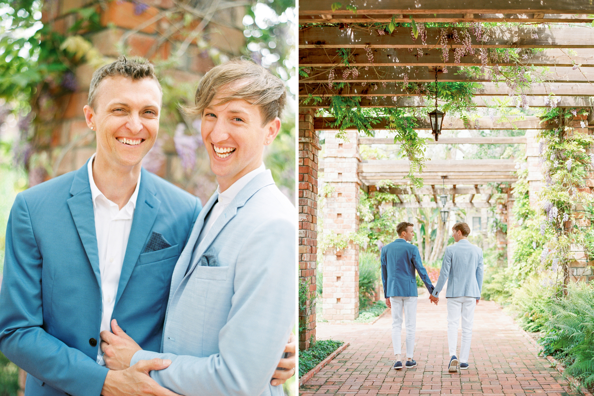 Chic Gay Californian Elopement