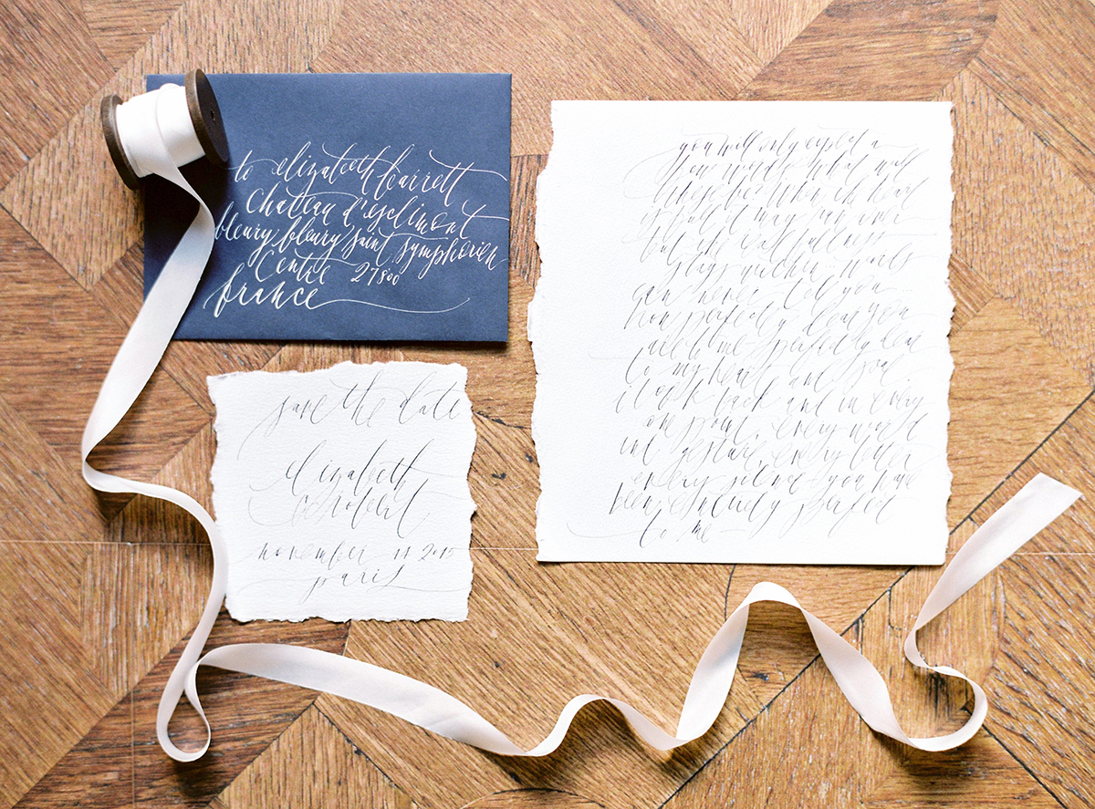 Post Calligraphy Stationery photography by Ashley Ludaescher