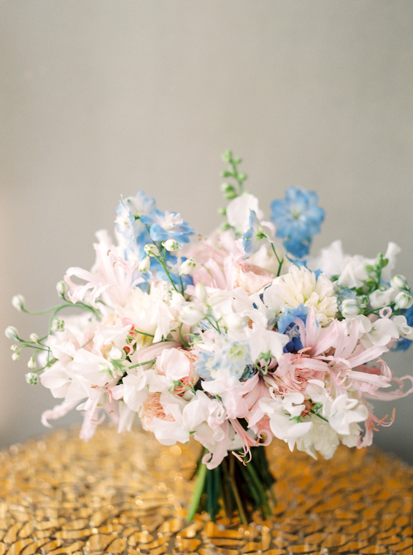 Summer Bridal Bouquet by Botanic Art Floral and Event Design | Ashley Ludaescher Photography