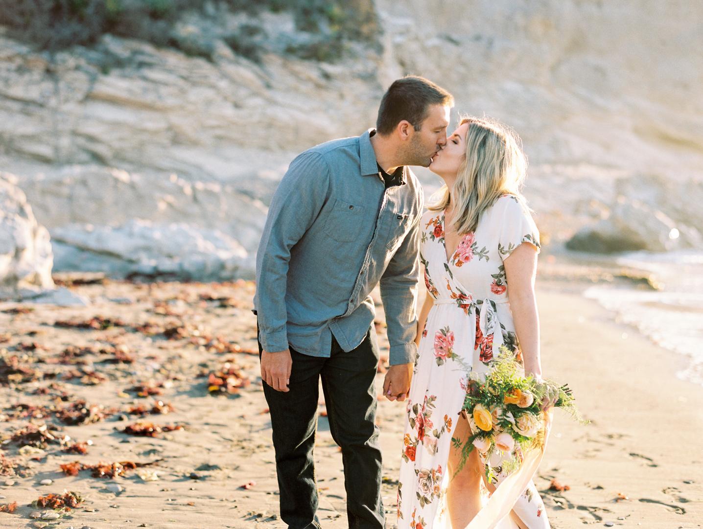 Big Sur California Engagement Photo