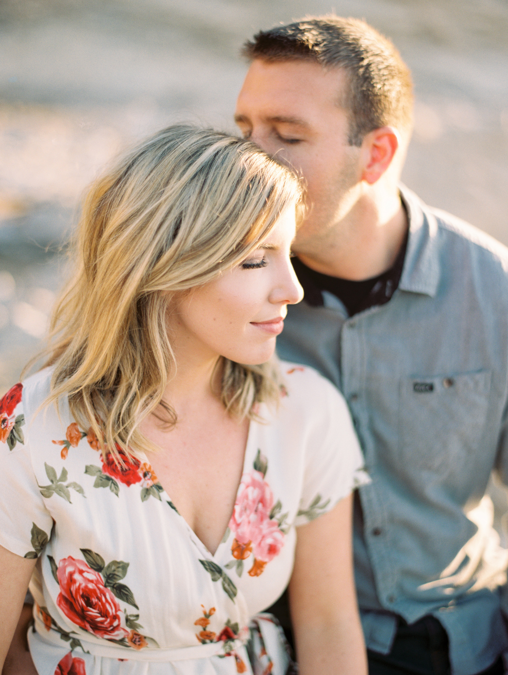 Big Sur Engagement Photo