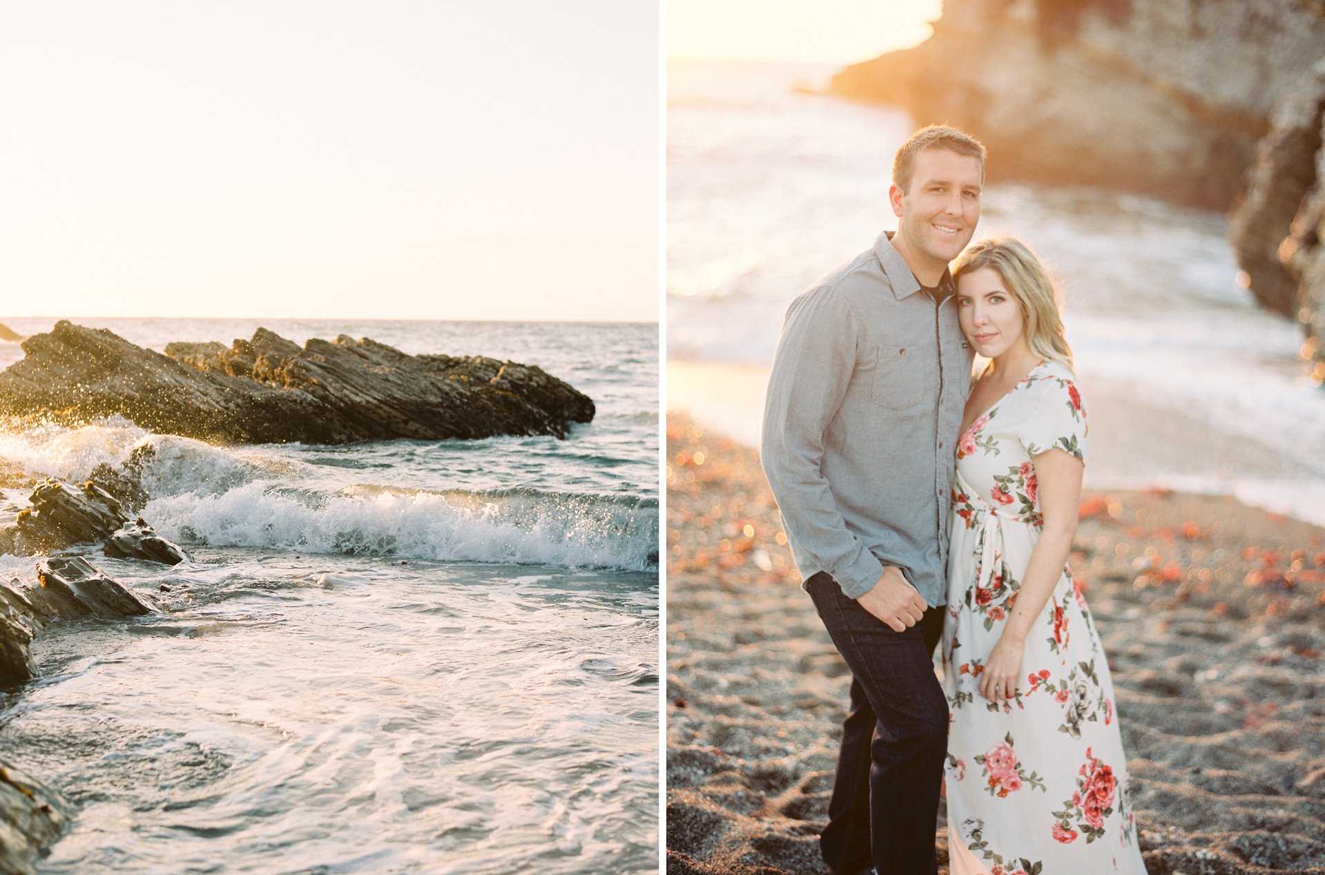 Montana de Oro California Engagement Photo