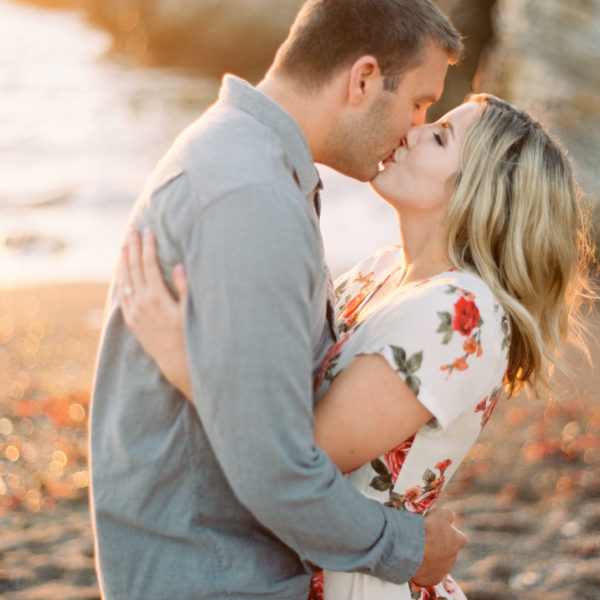Lauren & Stephen | Central Coast Beach Engagement