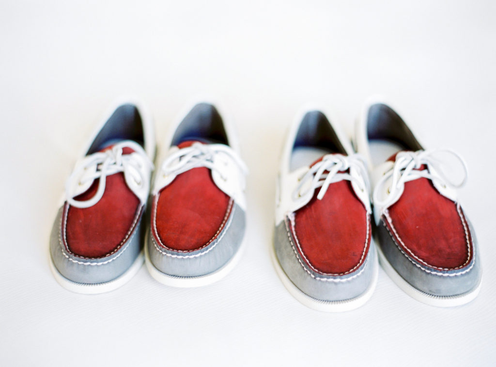 Custom Sperry Top Sider Wedding Shoes