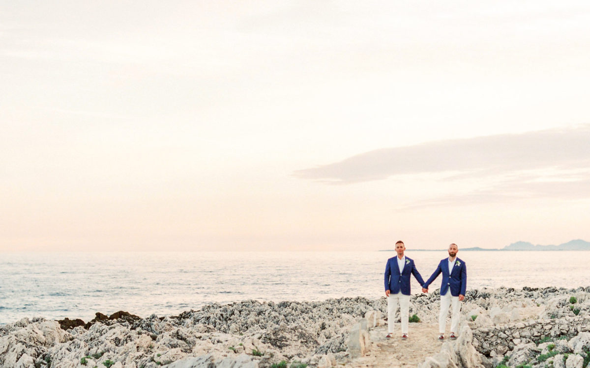 Rade & David's French Riviera Wedding