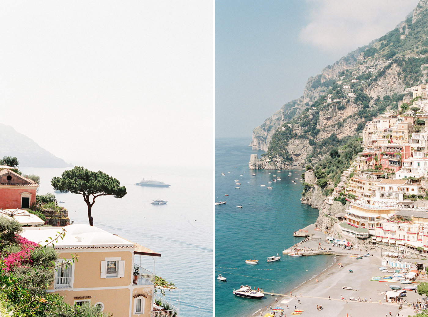 Positano Travel Film Photography