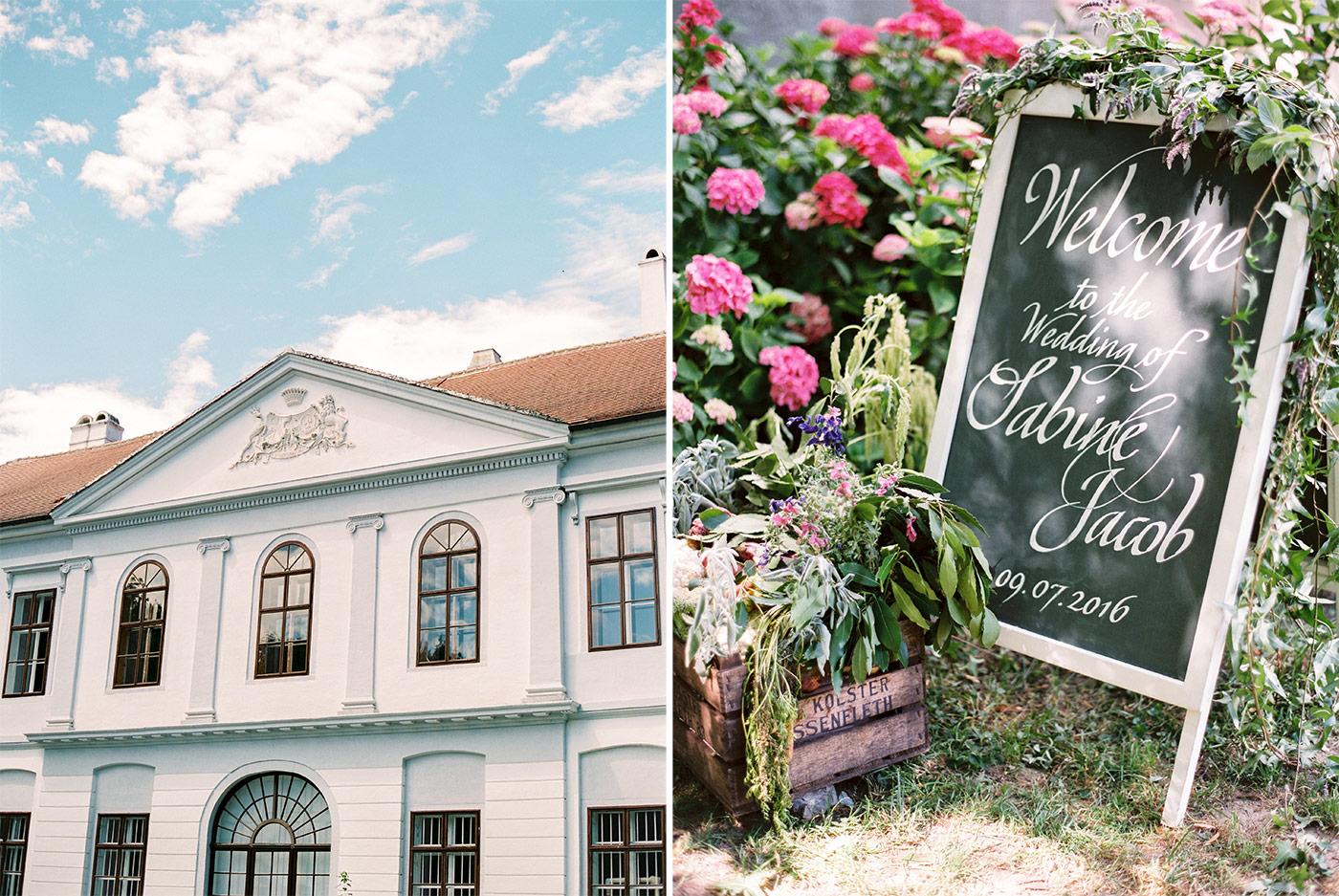 Schloss Nikitsch Hochzeit