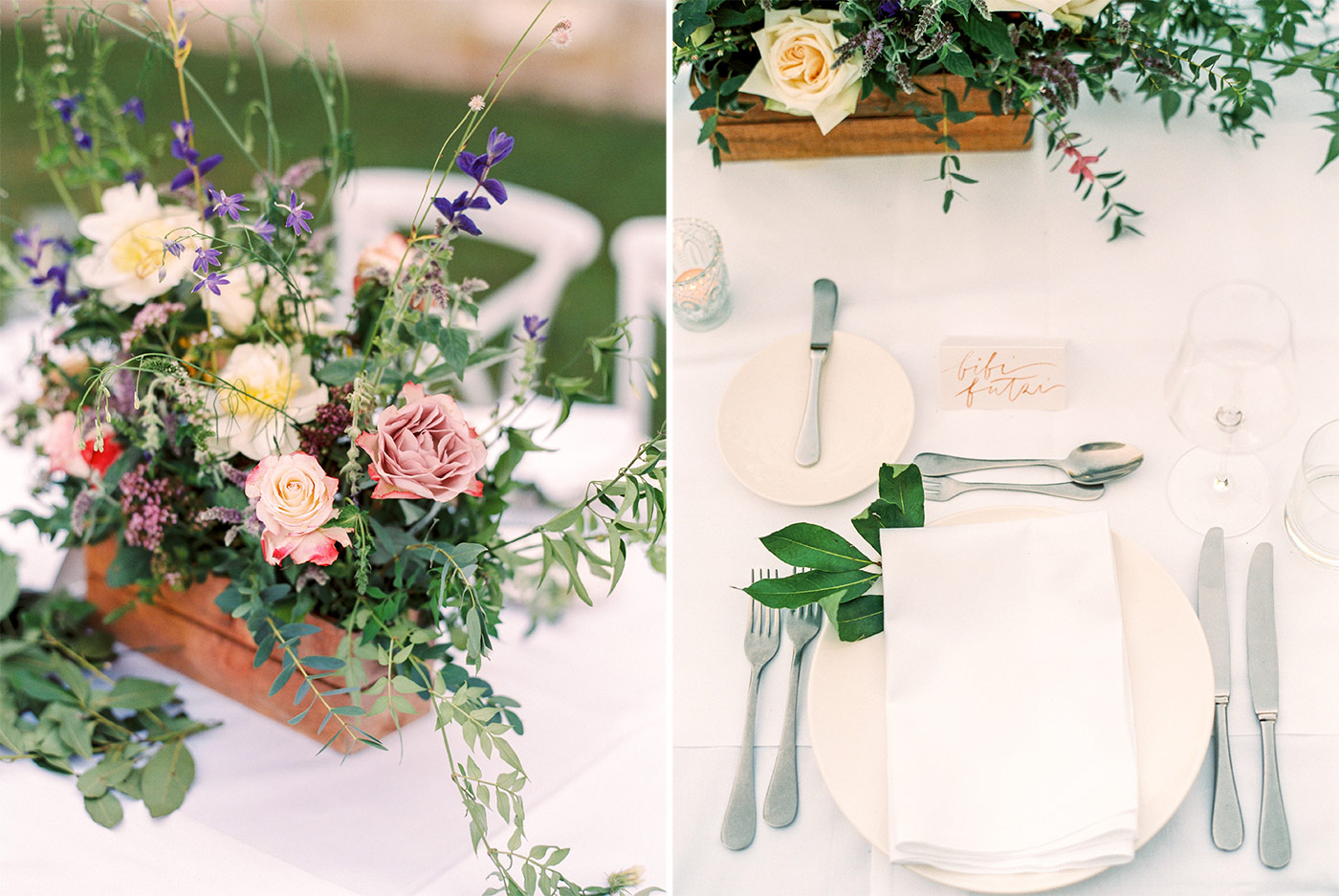 Wedding Table Styling by A Very Beloved Wedding