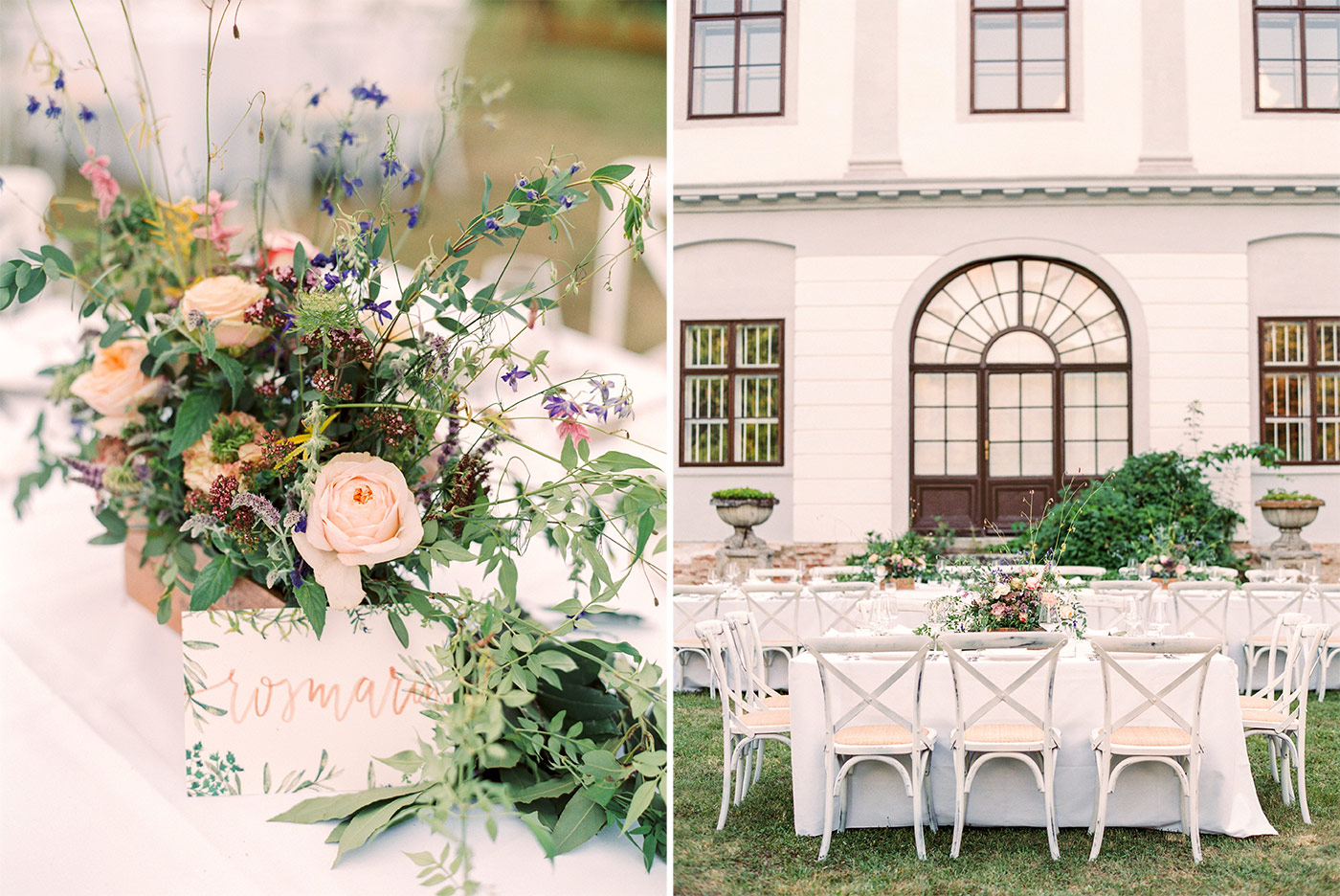 Fine Art Wedding Reception Styling
