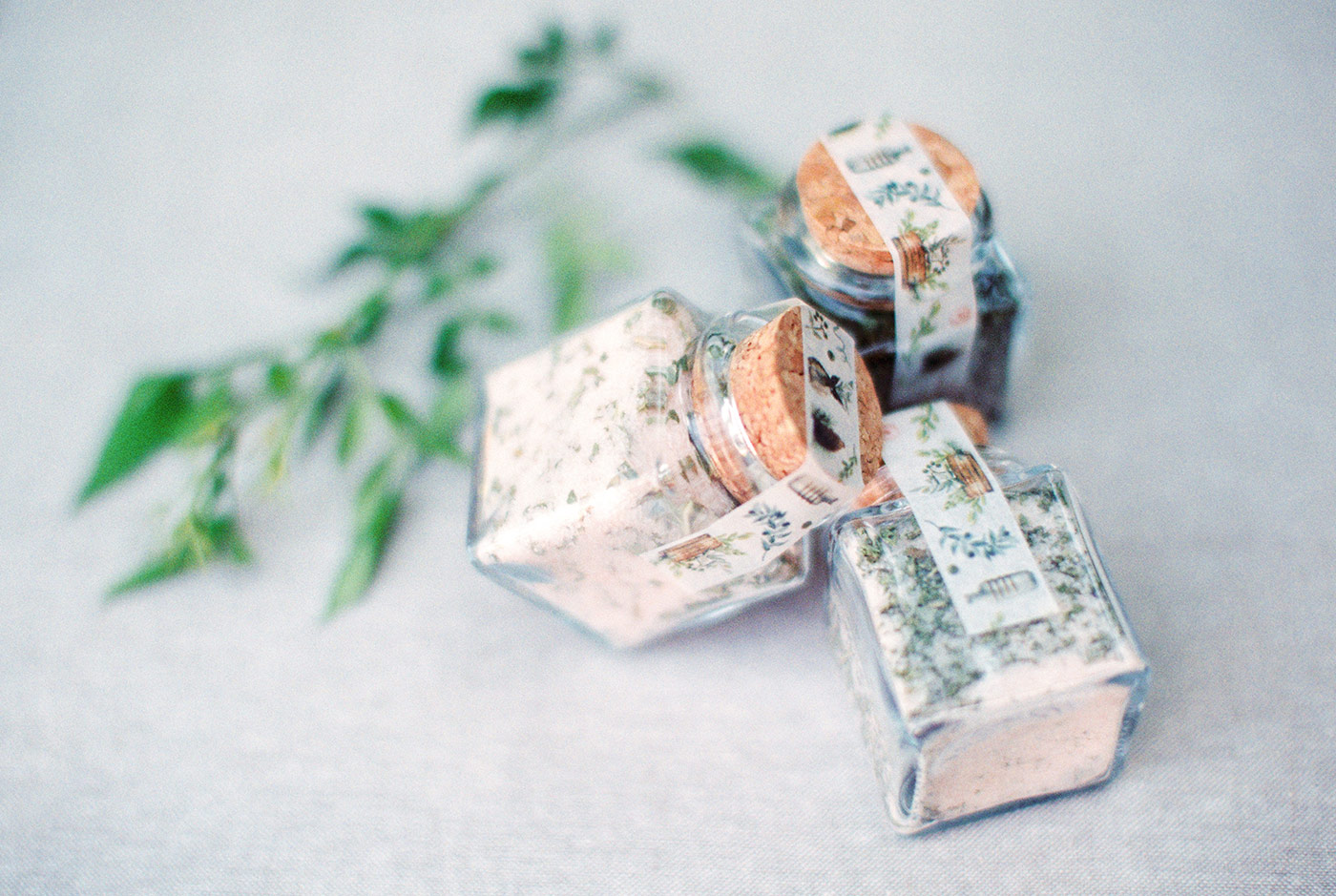Flavored Sea Salt Wedding Favors