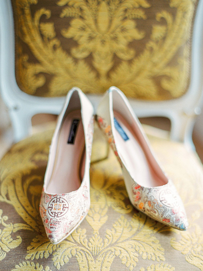 Bridal Shoes at Imperial Vienna