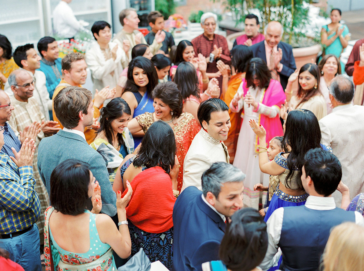 Multicultural Indian Wedding Baraat