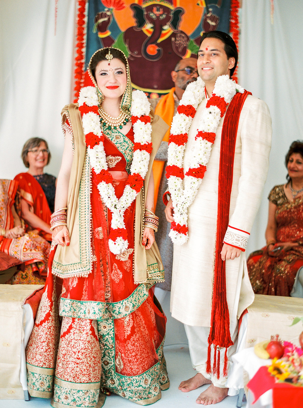 Multicultural Indian Wedding Ceremony
