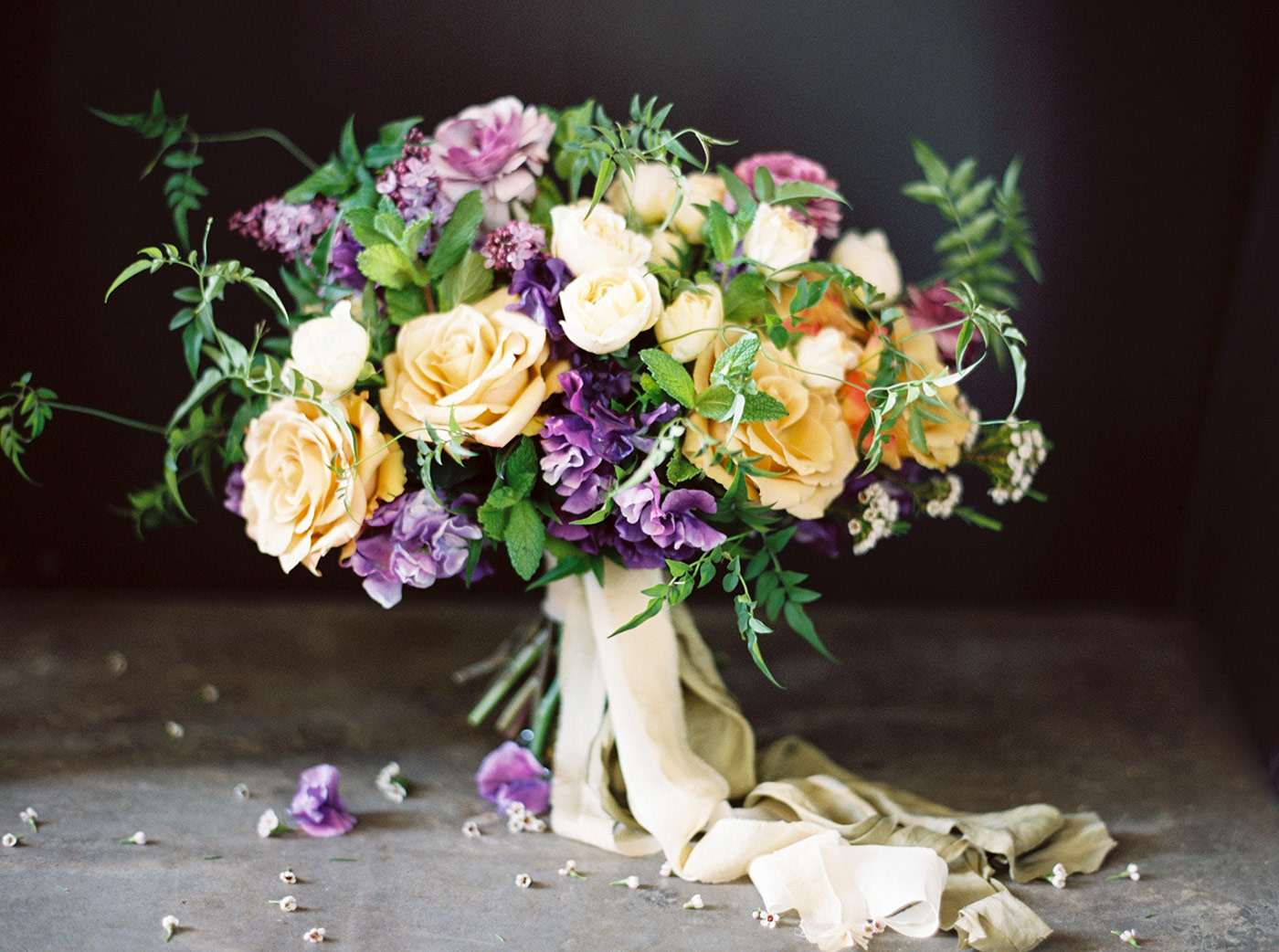 Wilder Floral Co. Bridal Bouquet photographed by Ashley Ludaescher
