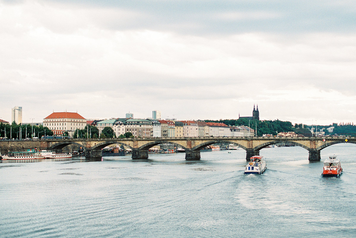 Prague Film Wedding Photographer