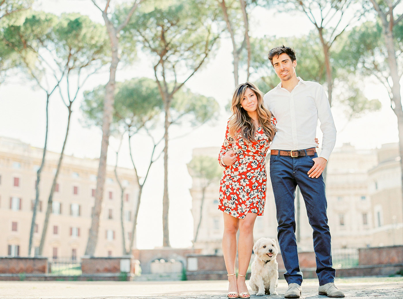 Engagement Photography Rome Italy
