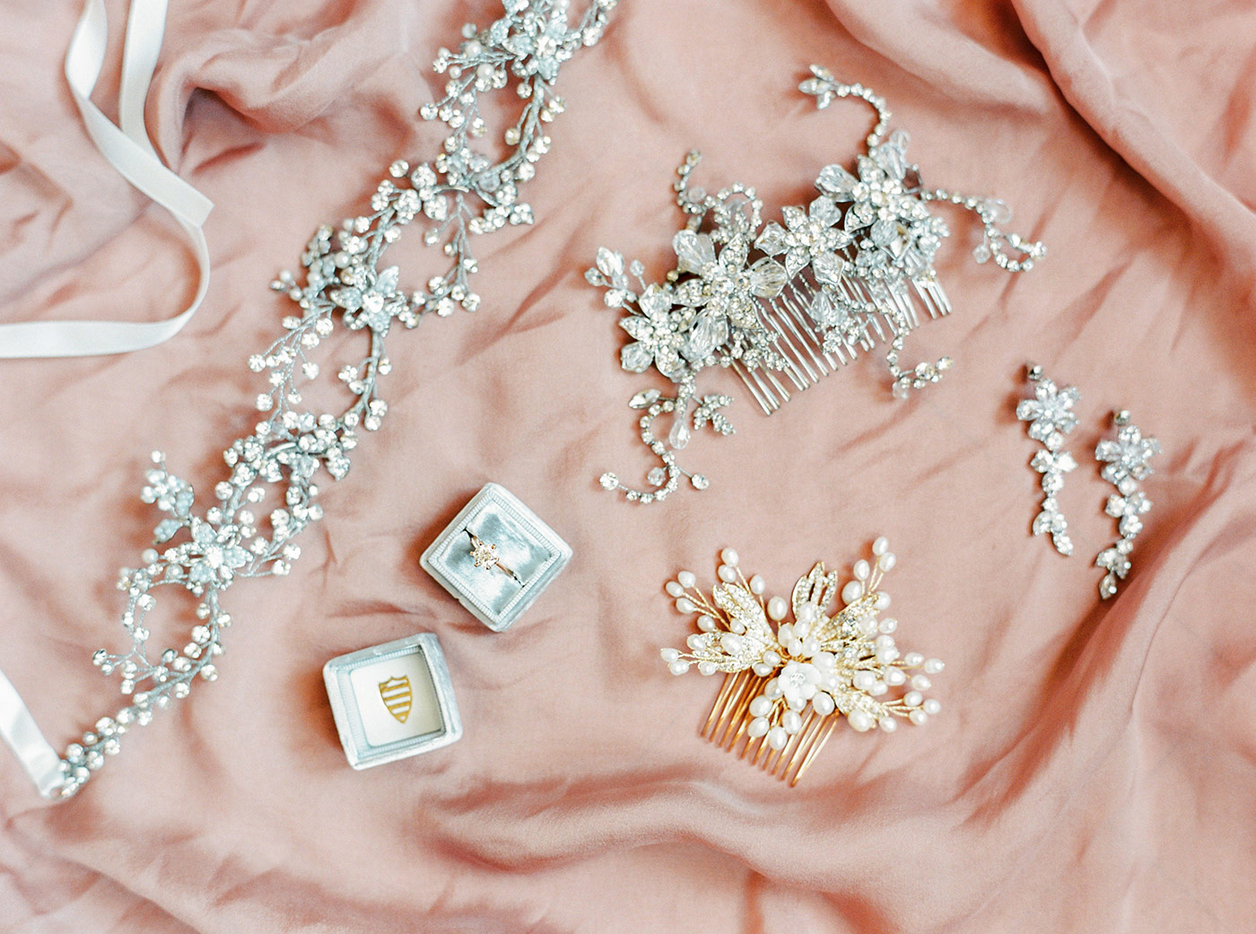 Bride's Accessories for her Wedding