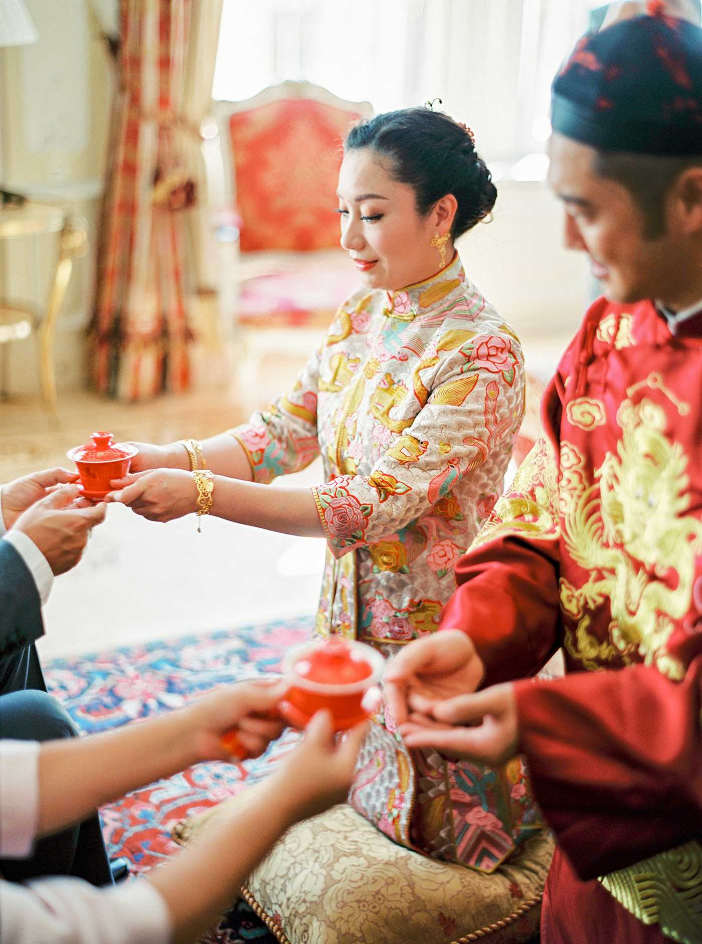 Chinese Tea Ceremony Hotel Imperial Vienna Wedding