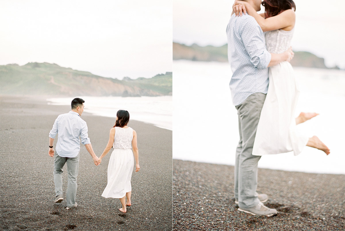 Marin Headlands Engagement Session San Francisco Wedding Photographer